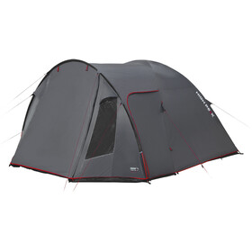 High Peak Tessin 5 tent grijs